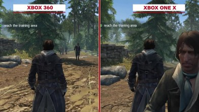 Assassin's Creed: Rogue Remastered Сравнение графики - Xbox 360 vs. Xbox One X