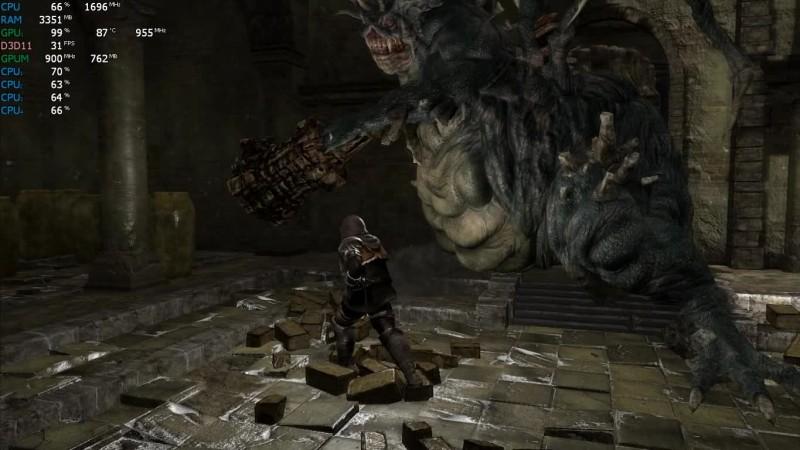 Dark Souls Remastered на слабом ноутбуке