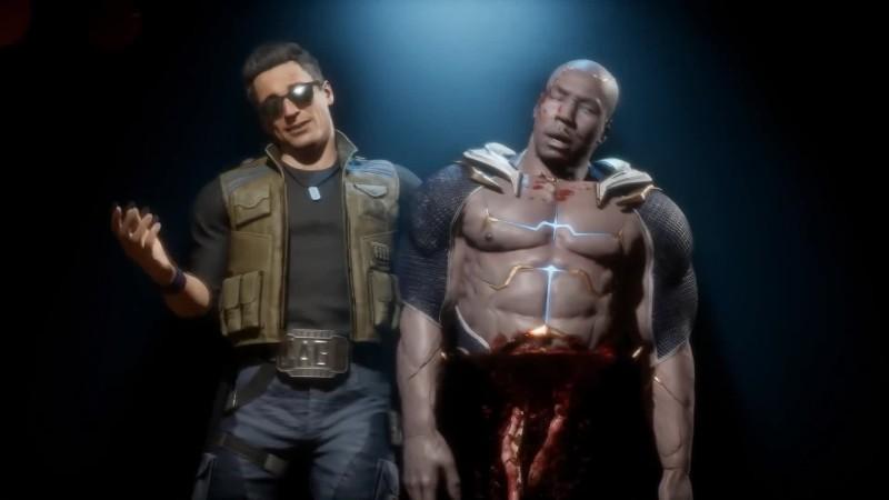 Mortal Kombat 11 - Новое фаталити Джонни Кейджа