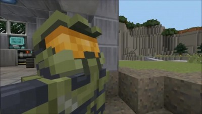 "MineCraft Halo Edition ""Трейлер"""