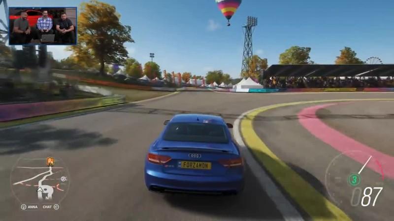 Дрифт на взлетной полосе геймплей Forza Horizon 4