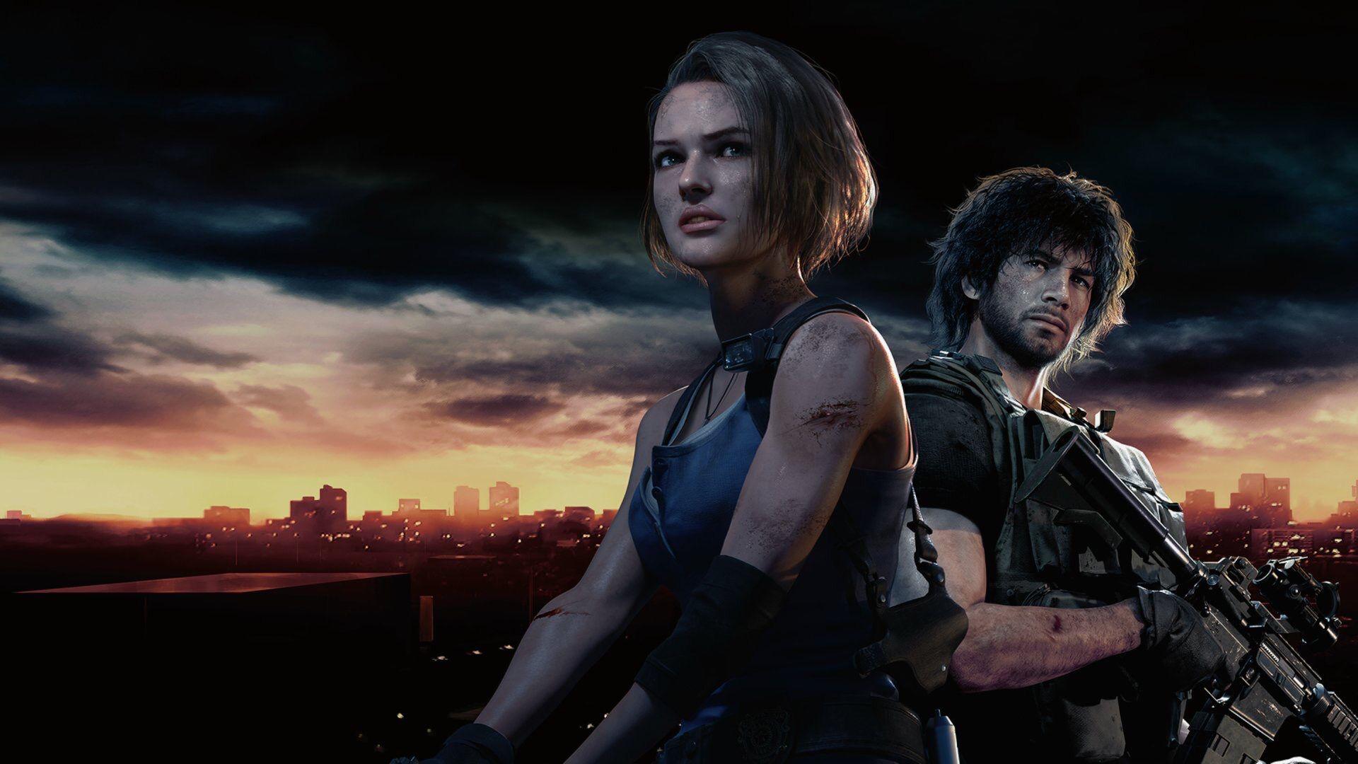 Джилл Валентайн и Карлос Оливейра на новых рендерах Resident Evil 3 Remake