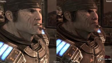 Сравнение графики - Gears of War 2 E3 2008 Демо vs Релиз