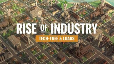 В экономической стратегии Rise of Industry появились русский язык и поддержка модификаций