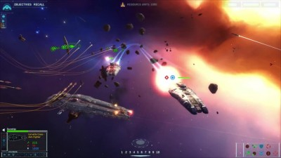 "Homeworld Remastered Collection ""5 минут геймплея"""