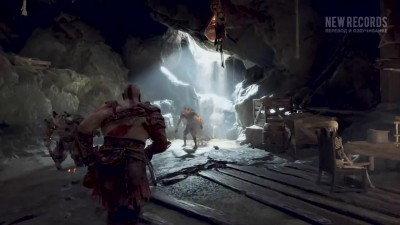 GOD OF WAR 4 НОВЫЙ Трейлер 2017 PS4 НА РУССКОМ (New Records)