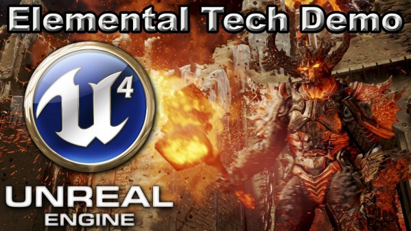 Unreal Engine 4 Elemental Tech Demo