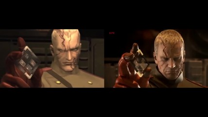 MGS3 Snake Eater Pachinko Cutscenes VS Original In Sequential Order