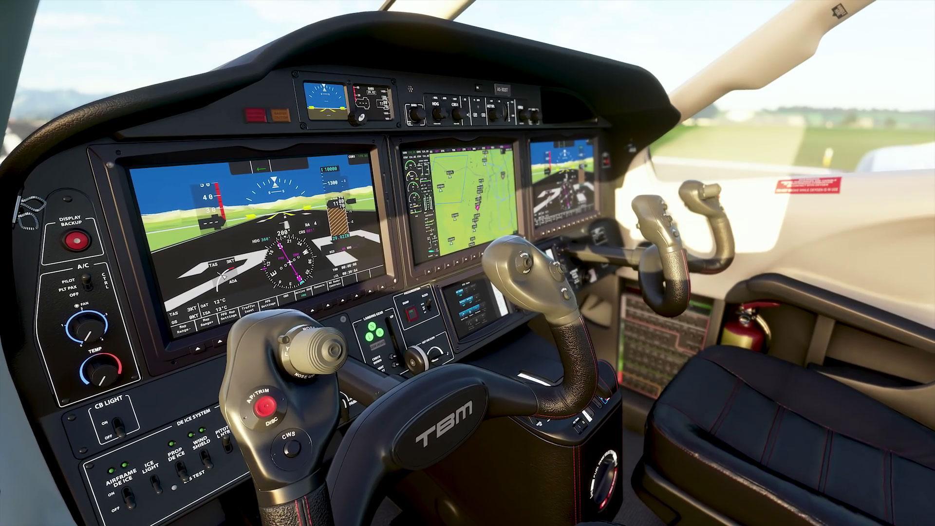 Кабины самолетов на новых скриншотах Microsoft Flight Simulator