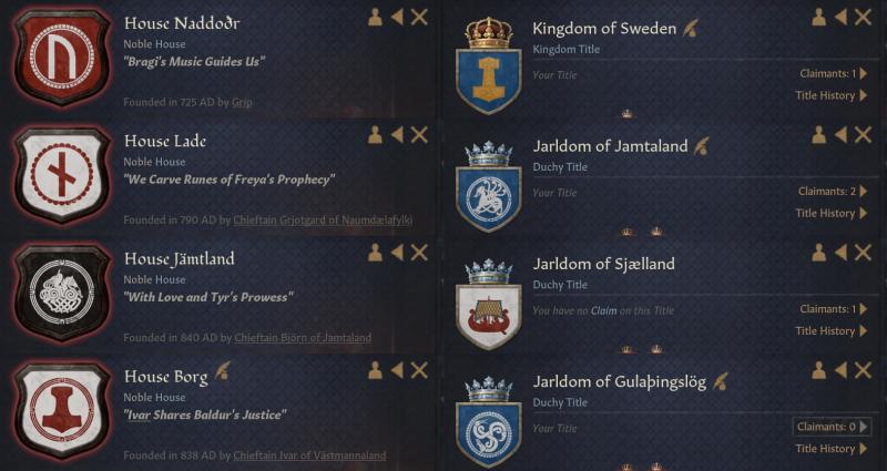 [Скандинавские гербы и девизы]