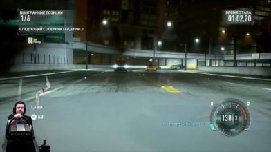 Зашкварный экшон на Великих озерах Need for Speed: The Run на руле Fanatec CSL Elite