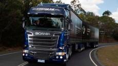 Разгрузка на заводе Scania в DLC Скандинавия