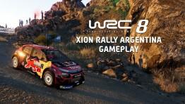 WRC 8 - 5 минут геймплея в ралли Аргентины