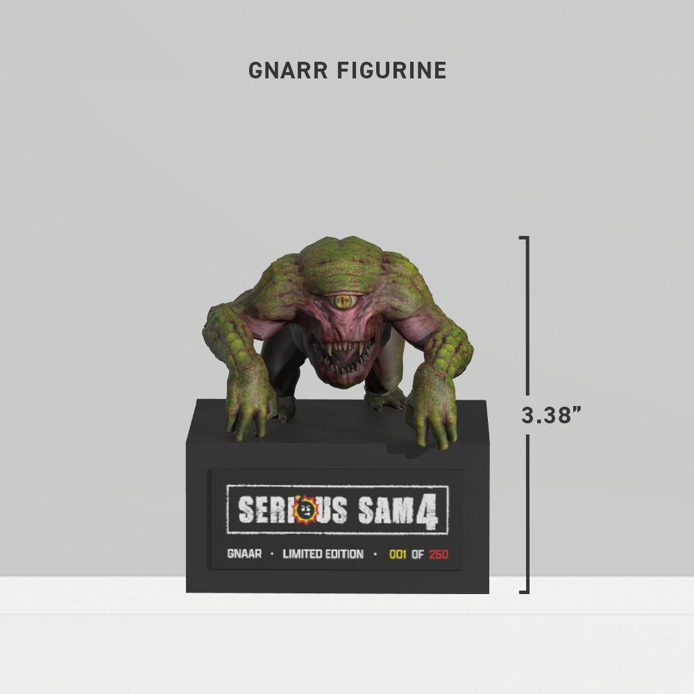 Анонсировано коллекционное издание и фигурки Serious Sam 4