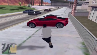 Сюжет GTA 5 в GTA SAN ANDREAS