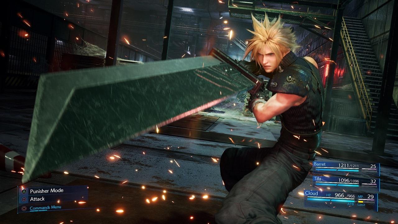 Final Fantasy VII Remake использует динамическое разрешение на PS4 и PS4 Pro; производительность очень высокая