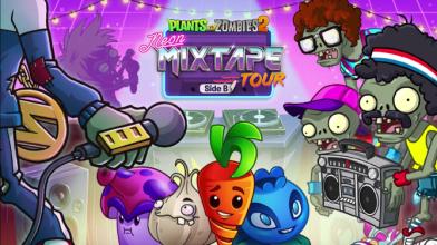 Plants vs. Zombies 2: Neon Mixtape Tour, Side B - Релиз