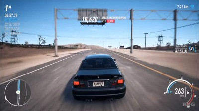 Need For Speed: Payback - BMW M3 E46 Тест-драйв Геймплей (PC HD)