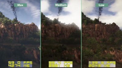 "Ghost Recon Wildlands ""Сравнение графики на PC Low vs. Medium vs. Max"" [Candyland]"