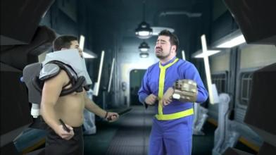 Fallout 4 - Пародийный скетч от Angry Joe
