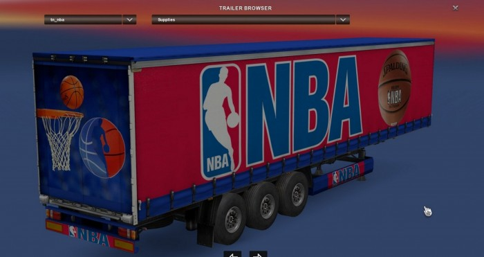 NBA trailer mod for ATS