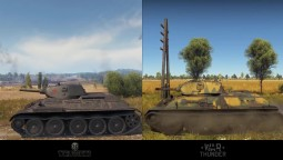 World Of Tanks 1.0 Vs War Thunder 1.77