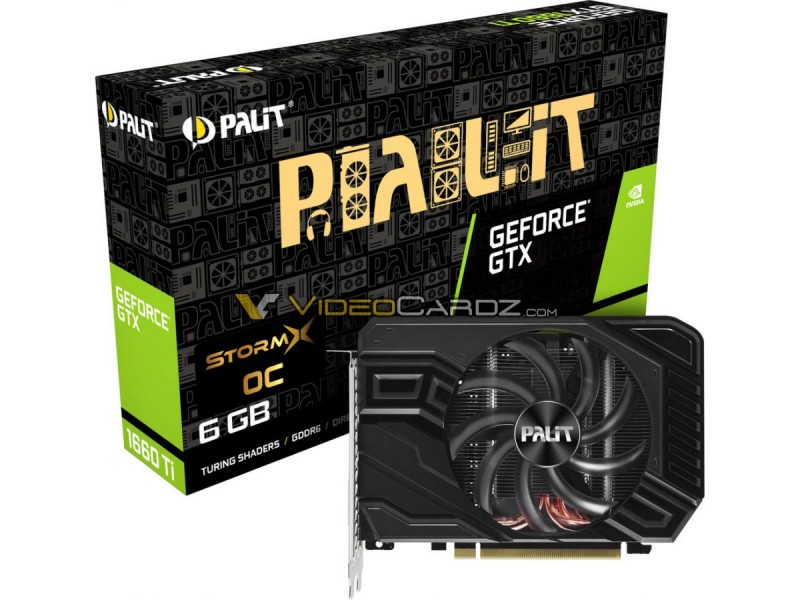 Palit GTX 1660 Ti StormX OC