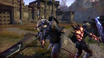 Это The Elder Scrolls Online: Tamriel Unlimited - Elder Scrolls с друзьями