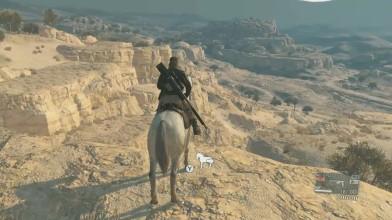 Ультранизкая графика в Metal Gear Solid 5