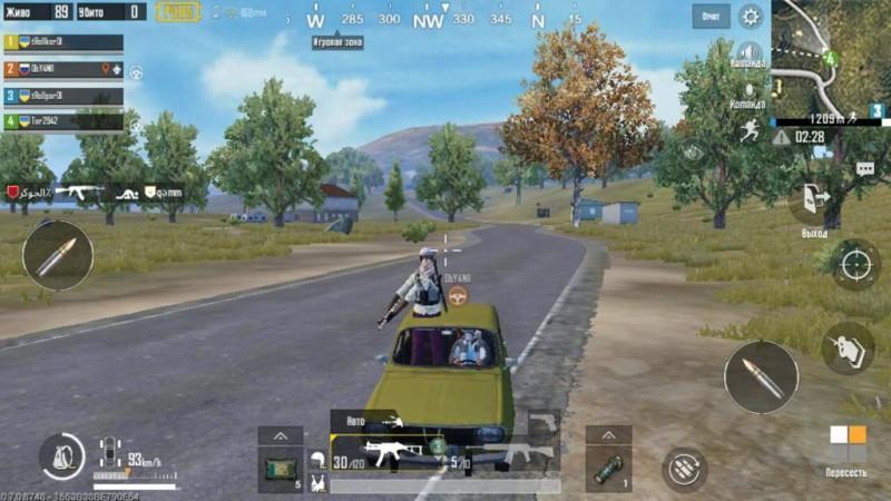 Персонаж застрял в машине