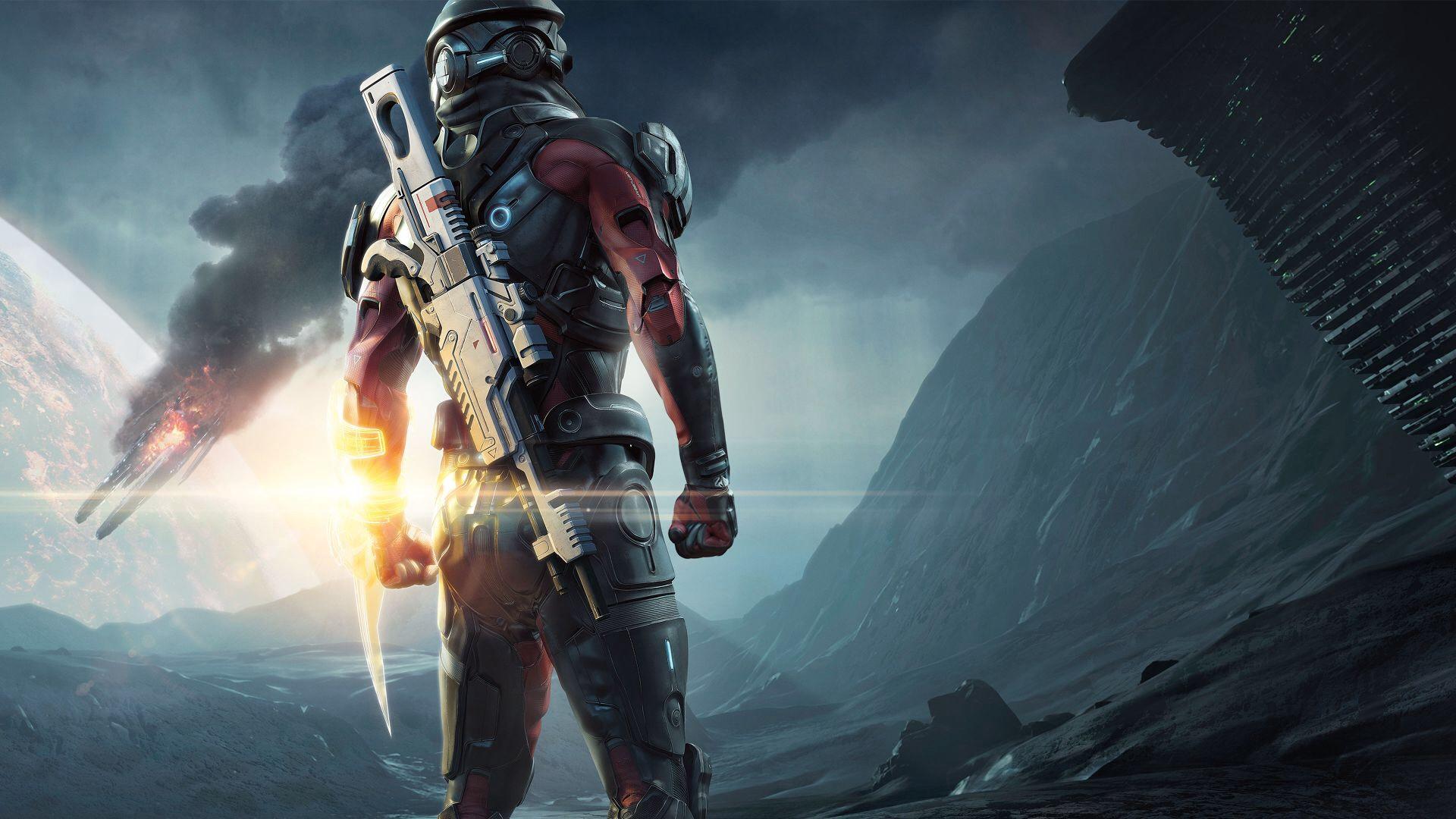 Объявлена дата выхода Mass Effect: Andromeda