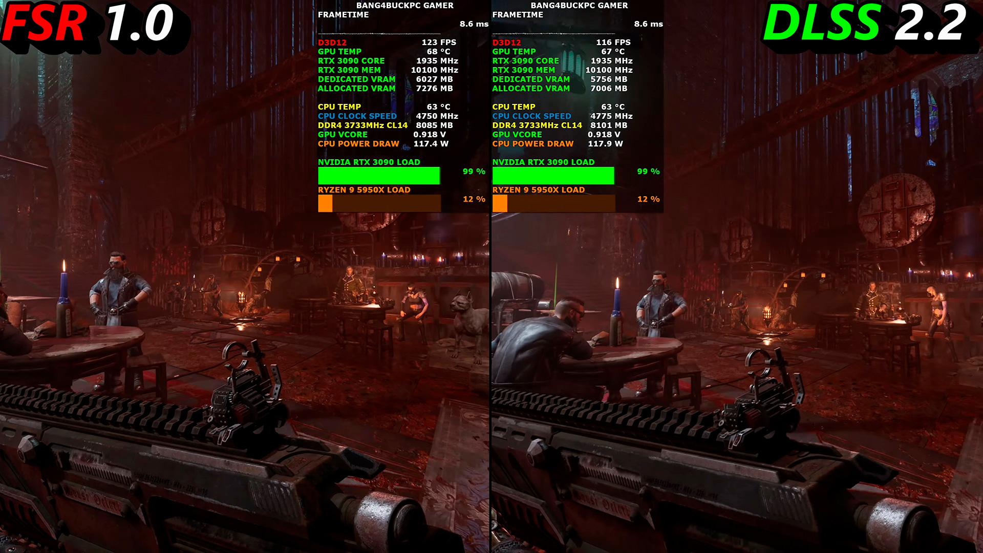 AMD FSR vs NVIDIA DLSS: сравниваем технологии масштабирования лицом к лицу
