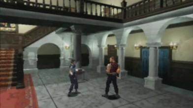 Resident Evil - Сцена из оригинальной игры 1996 года, которую сыграли Патрик Гилл и Симона де Рошфор из Polygon