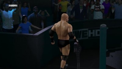 "WWE 2K15 ""Выходы бойцов Goldberg ,Scott Steiner,Kurt Angle,Devon Dudley"""
