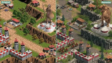 Age of Empires - Сравнение Original vs. Definitive Edition (Candyland)