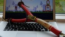 [Angry Birds: Rio] Самодельная USB-рогатка для игры