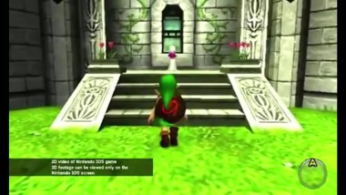 Реклама игры The Legend of Zelda: Ocarina of Time 3D [Nintendo 3DS]
