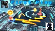 Видео игрового процесса онлайнового соревновательного шутера Synaptic Drive