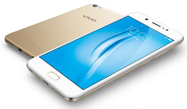Смартфон Vivo V5s рассчитан на приверженцев селфи