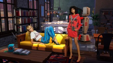 Moschino создали коллекцию совместно с разработчиками видеоигры The Sims