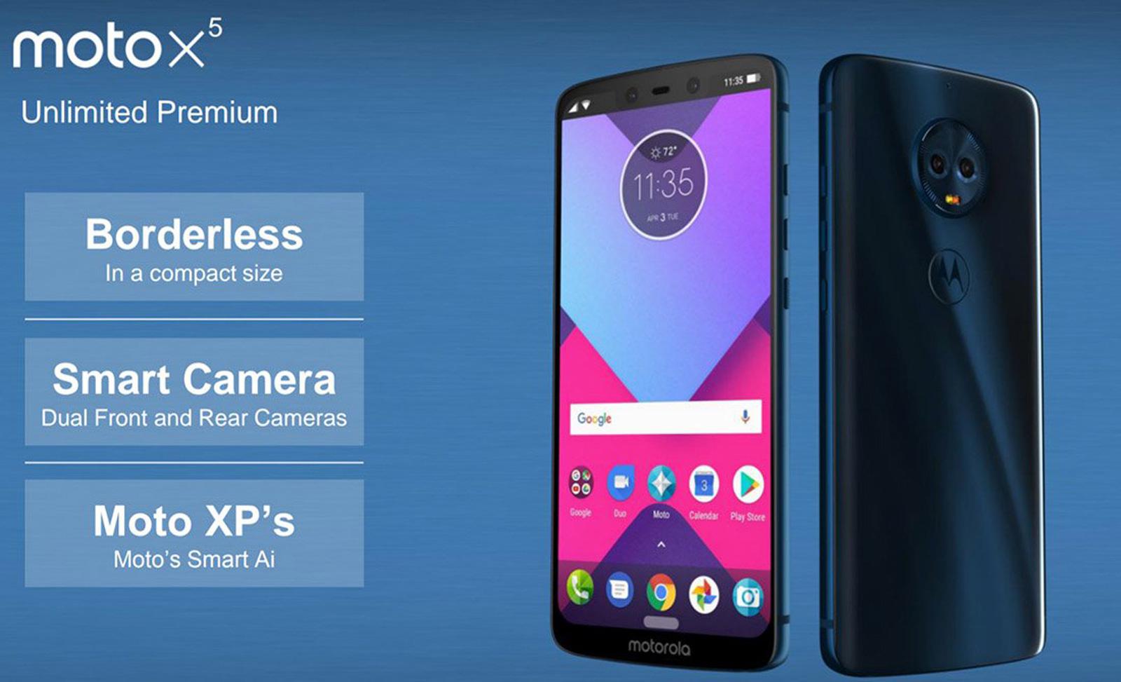 Бюджетный смартфон Moto E5 показался нарендере