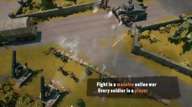 Военная MMO-песочница Foxhole в раннем доступе