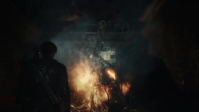 Выход Tиpaнa в Resident Evil 2 под трек DMX - X Gon' Give It To Ya