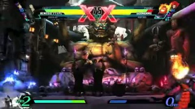 "Ultimate Marvel vs Capcom 3 ""Nemesis Trailer"""