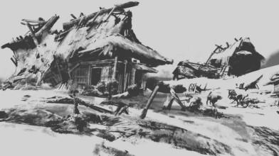 Новый концепт-арт Ghost of Tsushima
