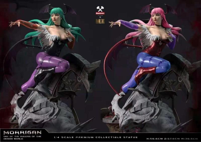 MKE Studio выпустит фигурку Морриган из игры Darkstalkers