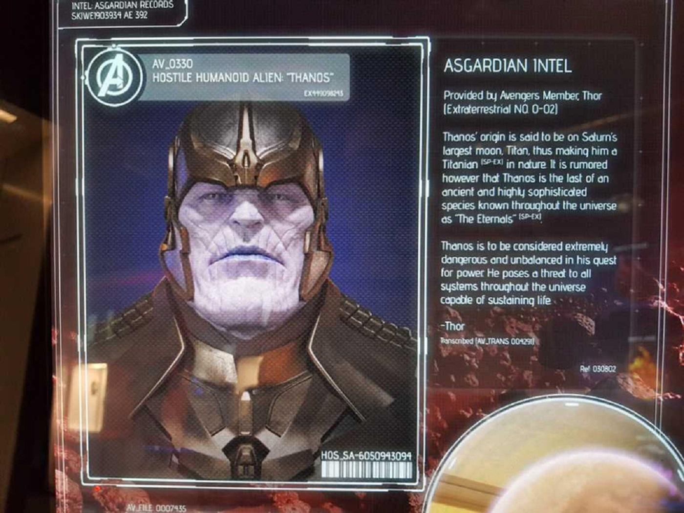 Marvel подтверждает родственную связь Таноса с Вечными