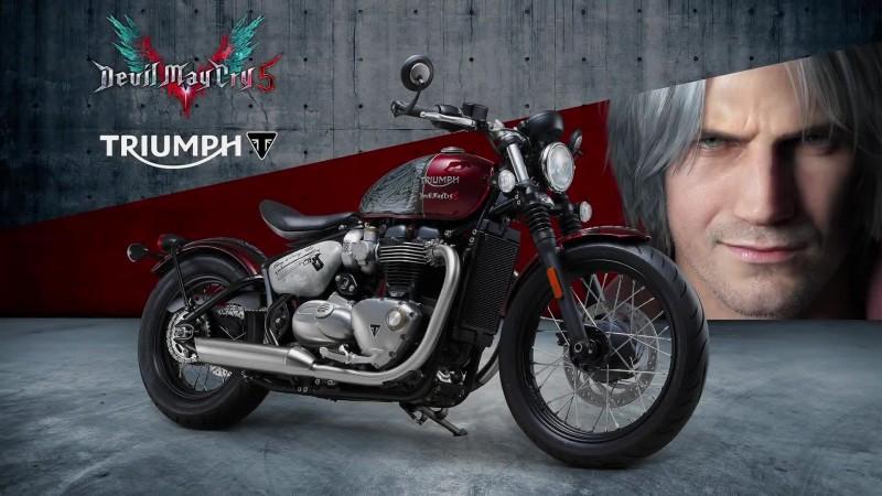Devil May Cry 5 - Розыгрыш мотоцикла Данте