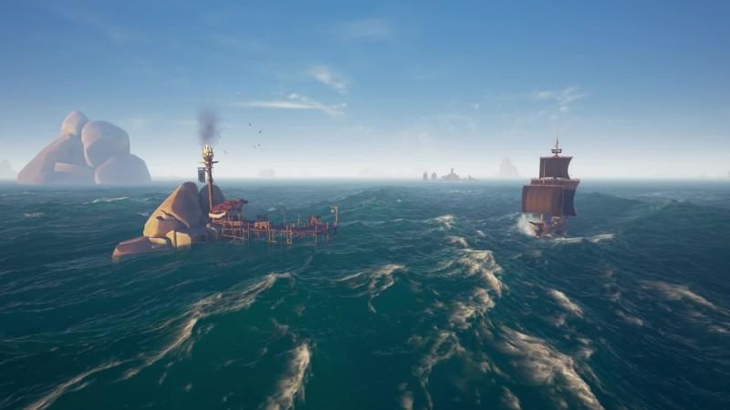 В новом трейлере Sea of Thieves показали рыбалку