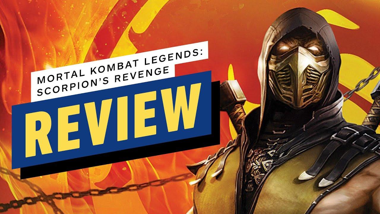 Первые оценки Mortal Kombat Legends: Scorpion's Revenge